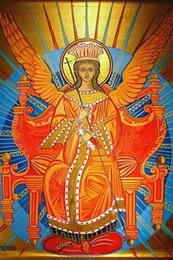 Sophia — Holy Spirit and the soul of humankind. Sophia is the archetypal feminine Creator, with roots in Paganism and the Hebraic traditions. She is before everything, and sets all of life in motion. To some, she is the feminine aspect of God. To others, she comes before and is the Mother of all that is divine. Her name translates as 'Wisdom'. Revered in both Pagan and Judeo-Christian traditions, Sophia is the dark, void source of Light.