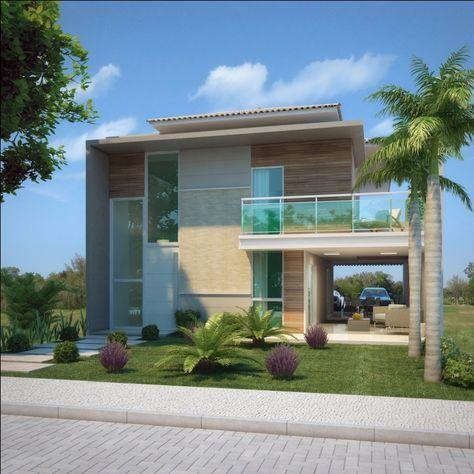 17 melhores ideias sobre casa duplex no pinterest for Casas duplex modernas