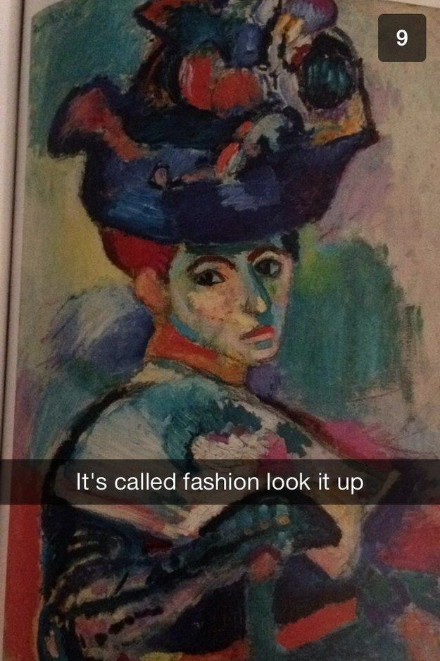 Any art/art history majors out there?