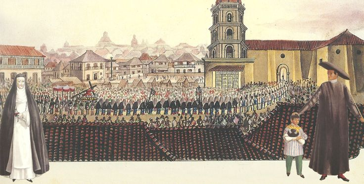 19th Century Feast of the Black Nazarene