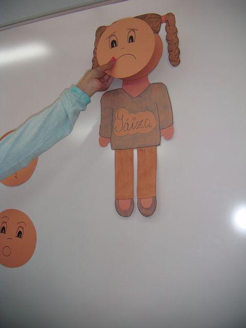 Muñeco de las emociones para autismo