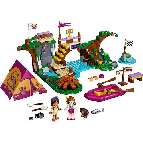 """LEGO Friends Adventure Camp Rafting Building Toy Set 320 Pieces - 41121 - LEGO - Toys """"R"""" Us"""