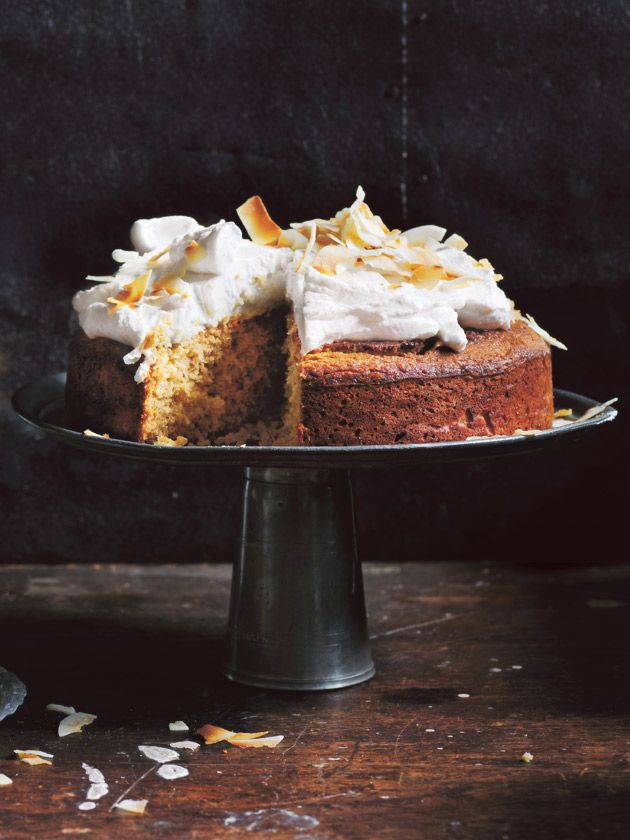 Perhaps you're after a celebration cake, afternoon tea or indulgent dessert? This gluten-free coconut cake with whipped coconut icing is the answer to your prayers.