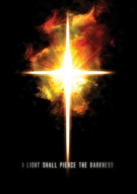 (Esta estrella es un Anclaje de Luz) Una luz traspasará la oscuridad. La luz resplandece en las tinieblas, y las tinieblas no han podido extinguirla.