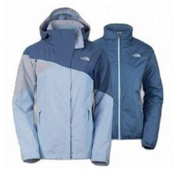The North Face Cinnabar Triclimate Jacket, both the shell and the internal jacket.