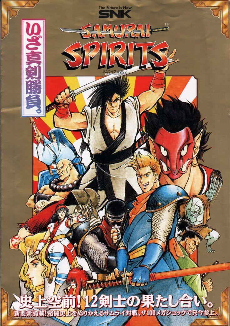 Samurai Spirits aka Samurai Shodown, found on Samurai Shodown Anthology on PS2 and Wii