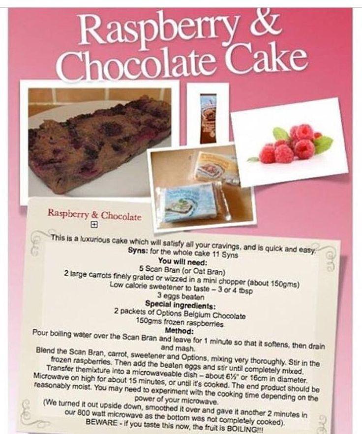 Slimming world chocolate cake