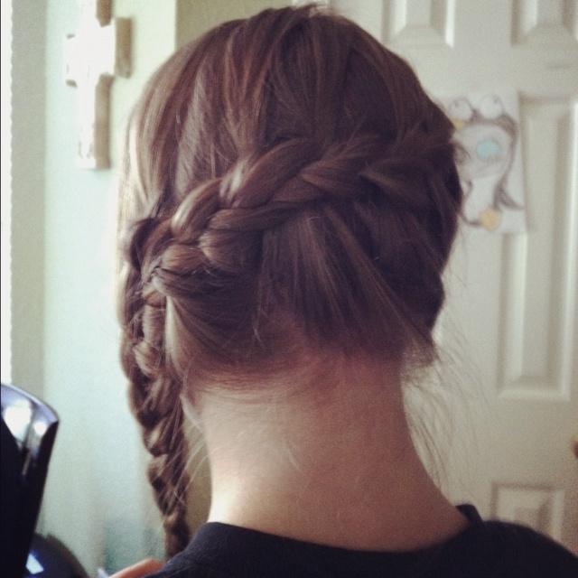 Katniss braid(: hunger games!!! | HAIR, NAILS, MAKE-UP