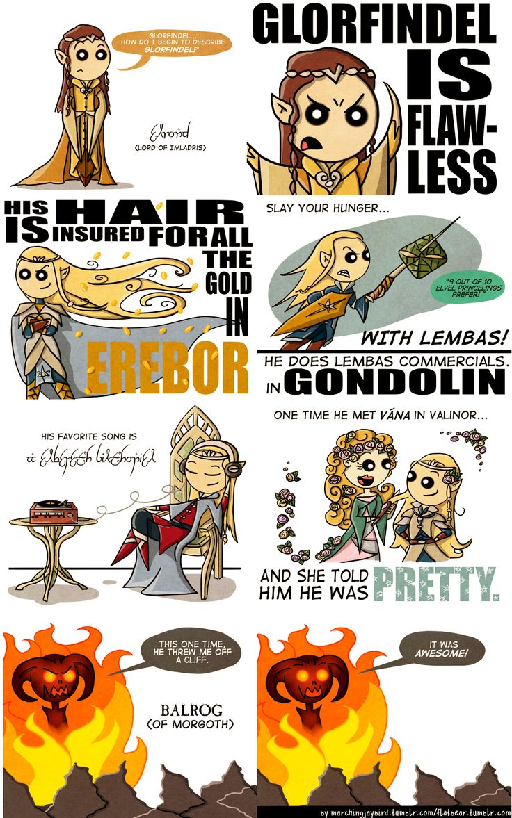 Glorfindel: the most snubbed character of the LOTR movie trilogy. Trust me, he was one BA Elf.