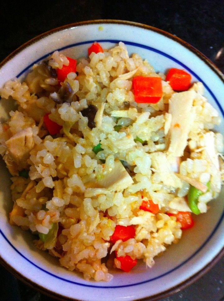 5 Minute Tuna & Veggie Mixed Rice (Fried Rice Japanese Style)
