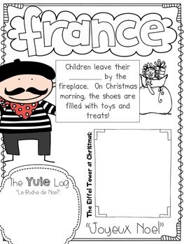 CHRISTMAS AROUND THE WORLD SCRAPBOOK - TeachersPayTeachers.com