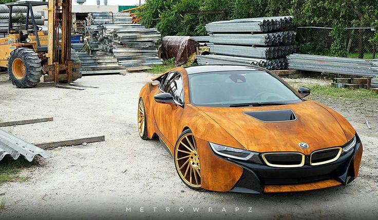 BMW i8 rust