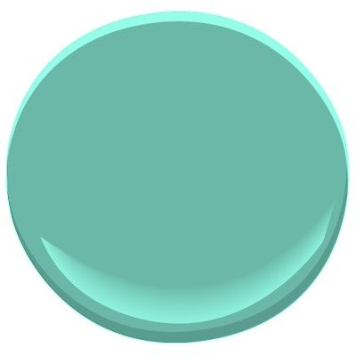 Kokopelli Teal for kitchen shelves.  It is the color of southwestern turquoise jewelry.  Nice!