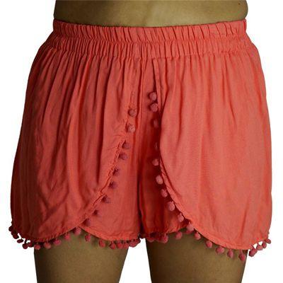 Sundrenched Pom Pom Skort: Plain - $29.00 #summerclothes #travelclothes
