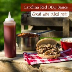 Carolina Red BBQ Sauce - great for pulled pork!!