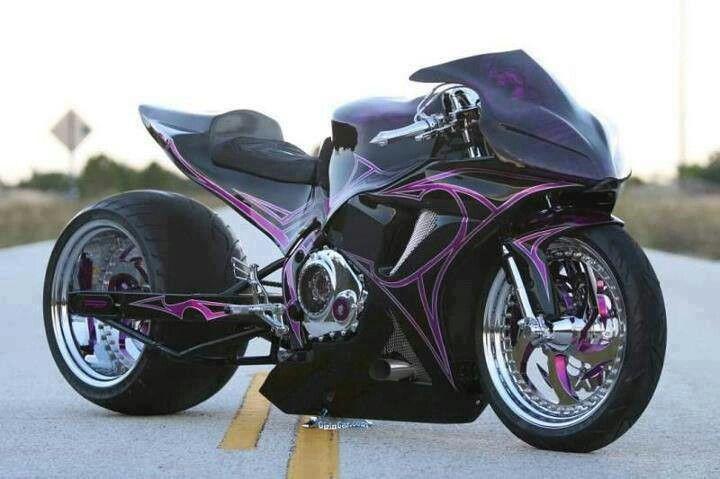 Black & purple croch rocket