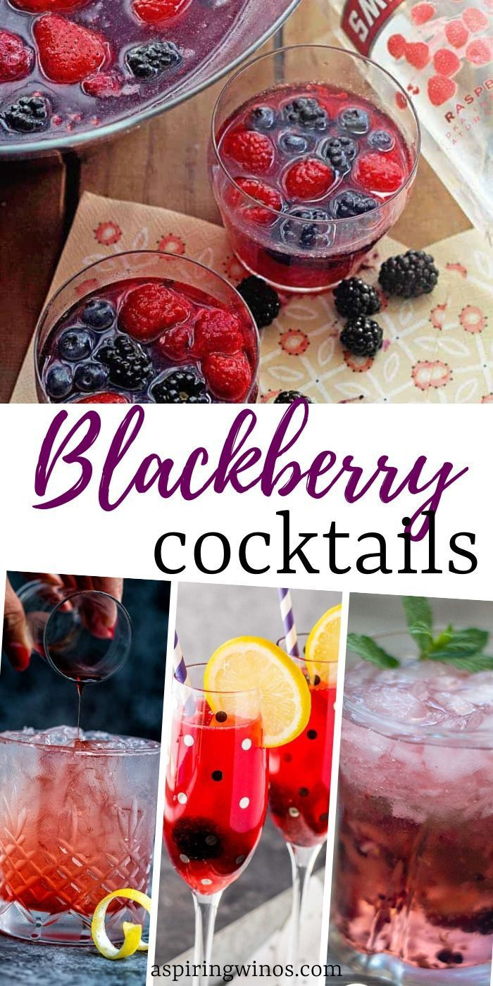 Blackberry Alcoholic Drinks In 2020 Alcoholic Drinks Fruity Drinks Wine Cocktail Recipes