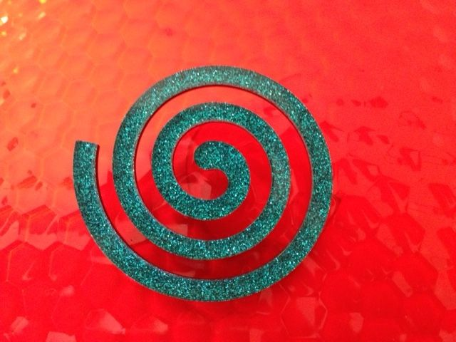 Absolute red for the New Collection Spiral Broch for Scicche www.scicche.it
