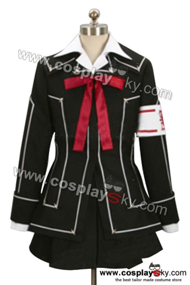 Vampire Knight Day Class Girl Kurosu Yuuki Cosplay Costumes-1