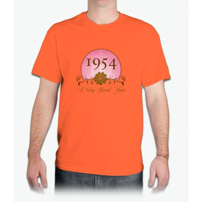 1954 Birthday For Her - Mens T-Shirt