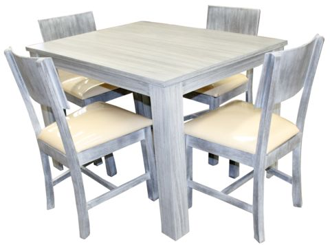 Comedor rainer vintage gris home ideas pinterest de for Sillas de comedor color gris