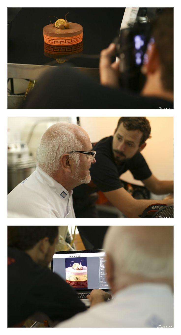 """""""Making of"""" de la producción fotográfica de La Torta Perfecta , de Osvaldo Gross,  en el IAG"""