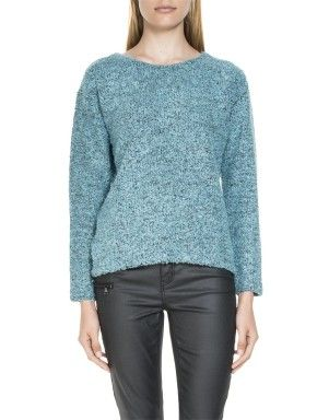 Bouclé Knit Top R 499.00  First select a colour: TEAL  CHARCOALTEAL