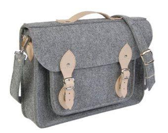 NEW lower price !!! Felt Laptop bag 15 inch with pocket, satchel, Macbook Pro 15 in, Custom size Laptop bag, sleeve, case,