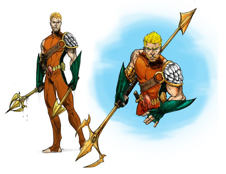 another aquaman redesign from deviantart.com