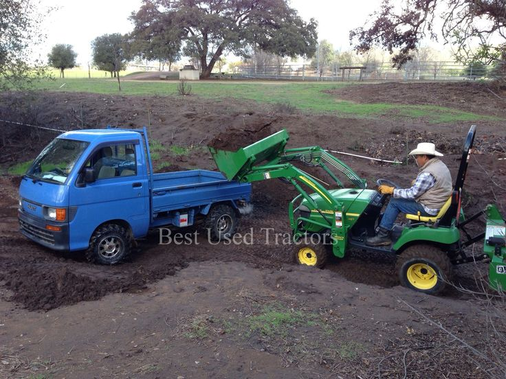 Help farmers and ranchers switch from gas-guzzling, full-sized pickups to high mpg mini trucks. Description from best-used-tractors.com. I searched for this on bing.com/images