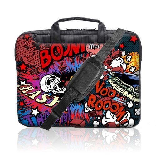 TaylorHe 15.6 inch 15 inch 16 inch Hard Wearing Nylon Laptop Carry Case Colourful Laptop Shoulder Bag with Patterns, Side Pockets Handles and Detachable Strap Colorful explosion by 15'6 inch TaylorHe Nylon Laptop Carry Cases, http://www.amazon.co.uk/dp/B00EZUWEHI/ref=cm_sw_r_pi_dp_TcOEsb00XQRJB
