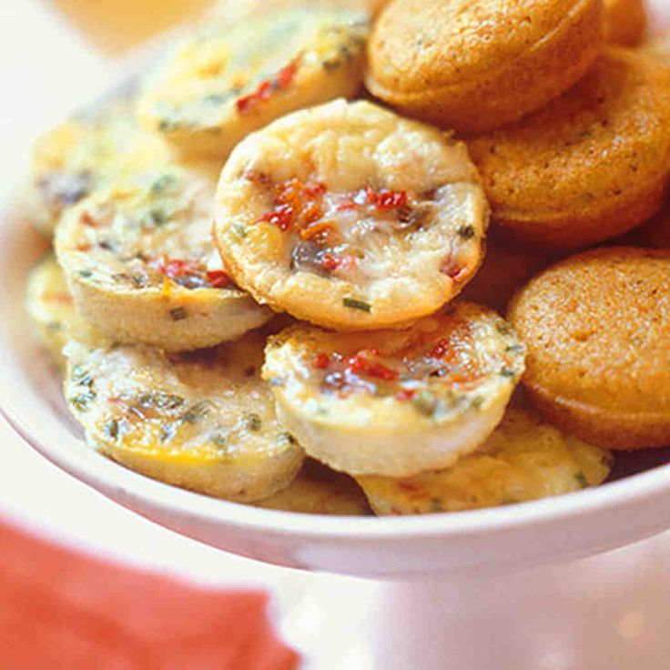 Whip up these egg gems for a satisfying hors d'oeuvre. Have your mini-muffin tins ready.