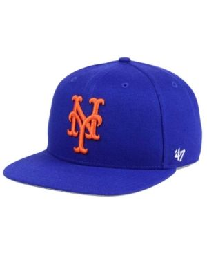 '47 Brand New York Mets Team Jackie Robinson Collection - Blue Adjustable