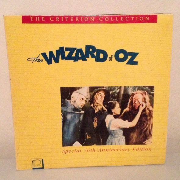 The Wizard of Oz Laserdisc Criterion Collection 50th Anniversary Edition