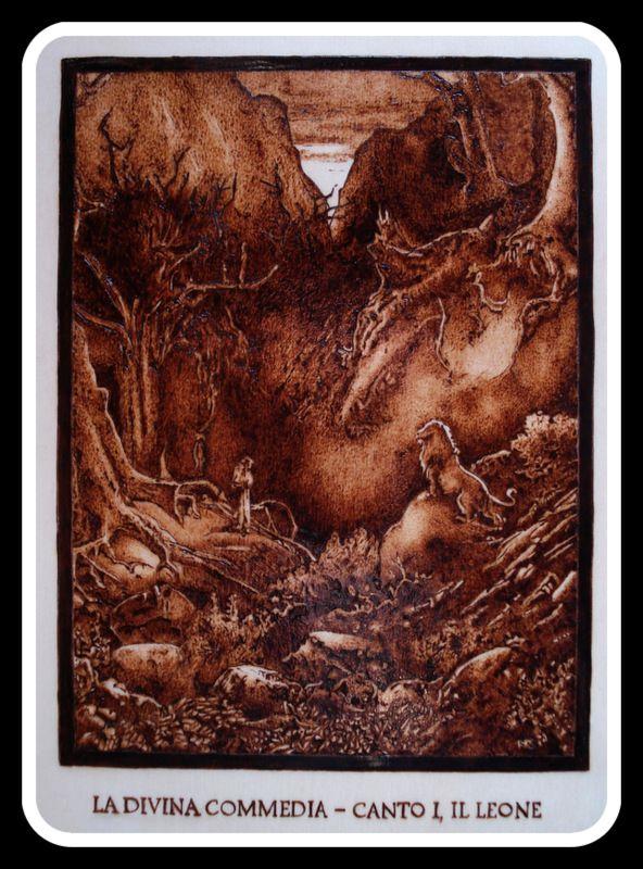 #Illustrazione #Inferno di #Dante di Simone Naldini #artigianato #pirografia http://omaventiquaranta.blogspot.it/2013/11/linferno-dantesco-di-simone-naldini.htm