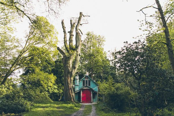 The Chapel at Walcot Hall is perfect for a pre-wedding friends gathering