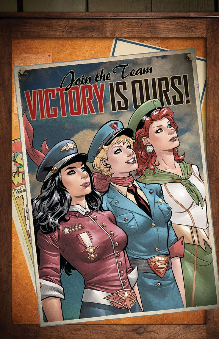 DC Comics Bombshells JUSTICE LEAGUE #43 Variant Cover