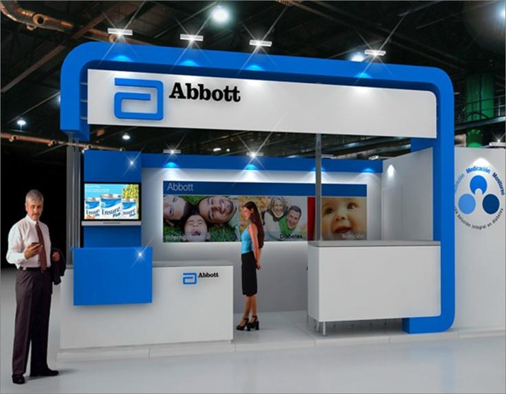 Stand Laboratorios Abbott.  Congreso de Diabetología 2011  Mar del Plata, Argentina.