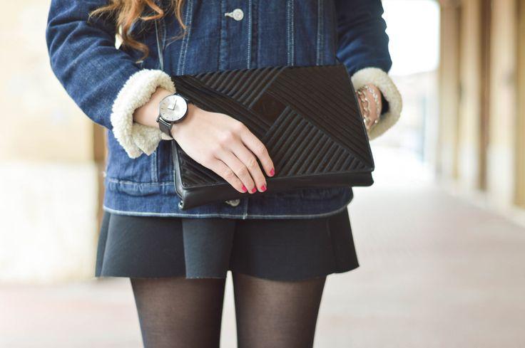 Fendi vintage bag and Klasse 14 watch! Find more on: www.thespirald.com