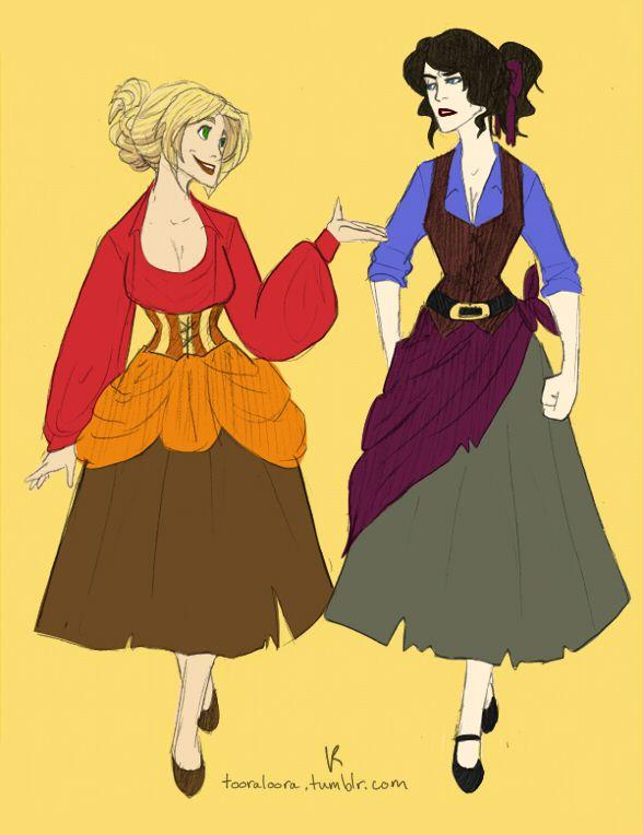 El Dorado: Miguel and Tulio as GIRLS!!!! AHAHAHAHAHAHAHAHAHAHAHAHAHHHA!!