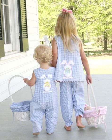 Adorable Easter outfits from Kate Rees