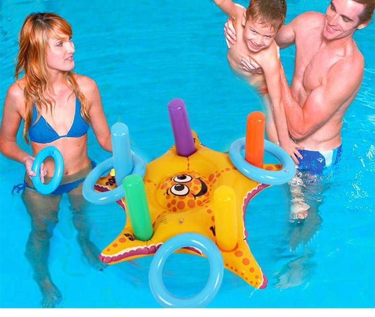 Anillo de la natacioacuten del flotador de la piscina for Pepa en la piscina