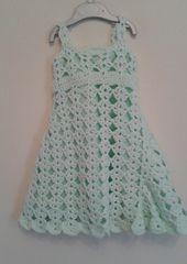 Ravelry: Free - Diamond Pattern Toddler Dress Crochet Pattern pattern by Peach. Unicorn