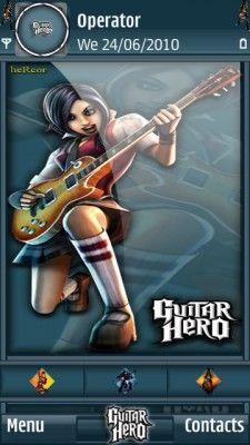 Tema SIS guitarhero003hc para celular