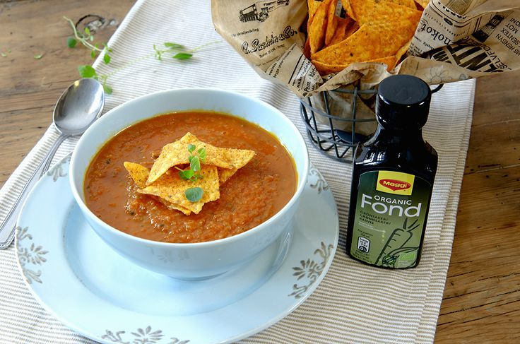 tomat- og squashsuppe