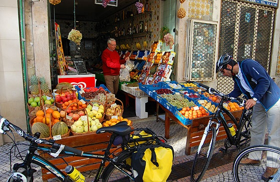 Lisbon Deluxe Bike & Eat tour.  Check out old school deli food shops, stop for gourmet tastings and finish with a cooking class.