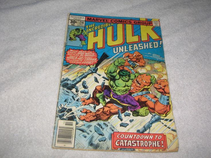 Incredible Hulk Marvel Comic Book Unleashed #216 Countdown to Catastrophe vINTAGE cOLLECTIBLE mARVEL cOMIC by NikkoChikko on Etsy