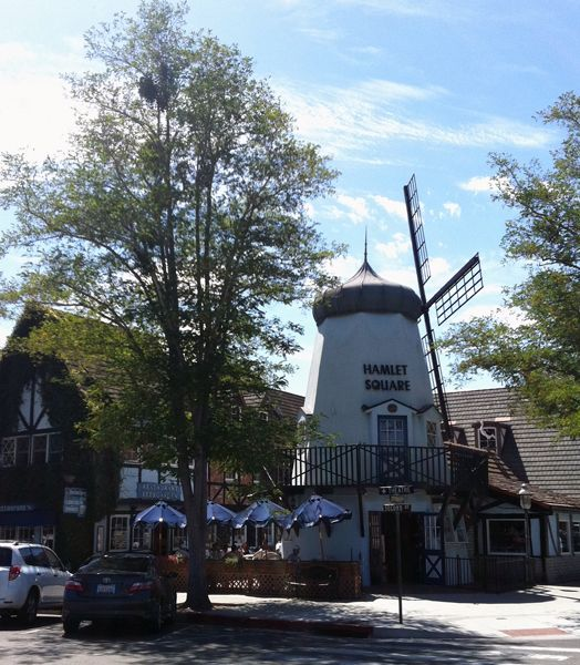SOLVANG, Ca. This kitschy Danish-settled hamlet is entertaining to visit for the Scandanavian-style architecture and Wednesday afternoon farmers market.