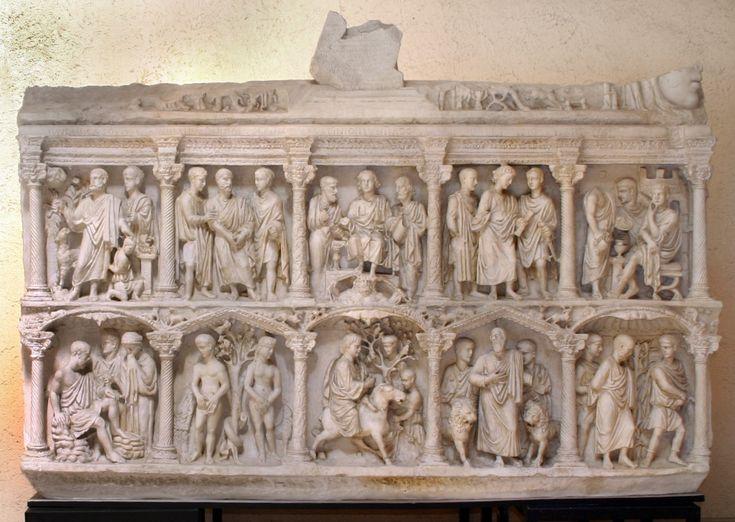Sarcophagus of Junius Bassus
