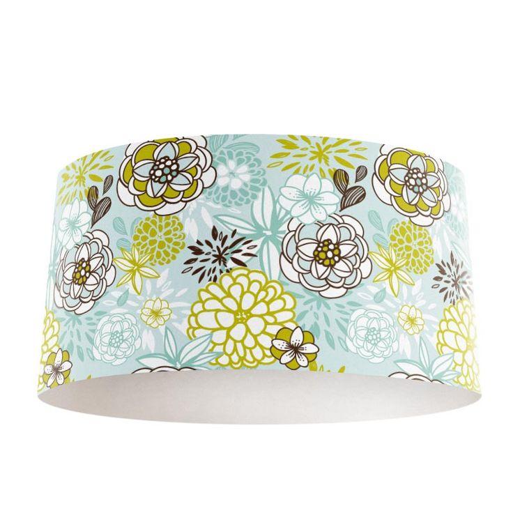 Lampenkap Kleurrijke Retro bloemen   Bestel lampenkappen voorzien van digitale print op hoogwaardige kunststof vandaag nog bij YouPri. Verkrijgbaar in verschillende maten en geschikt voor diverse ruimtes. Te bestellen met een eigen afbeelding of een print uit onze collectie. #lampenkap #lampenkappen #lamp #interieur #interieurdesign #woonruimte #slaapkamer #maken #pimpen #diy #modern #bekleden #design #foto #bloemen #bloemenzee #retro #grafisch #kleur